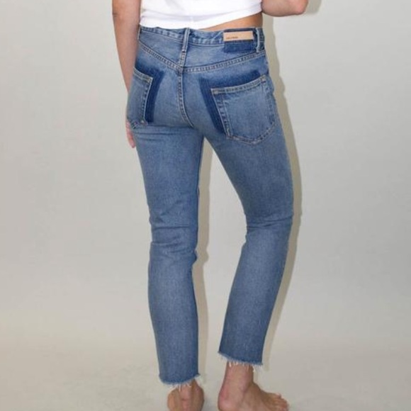 GRLFRND Denim - grlfrnd high waisted jeans